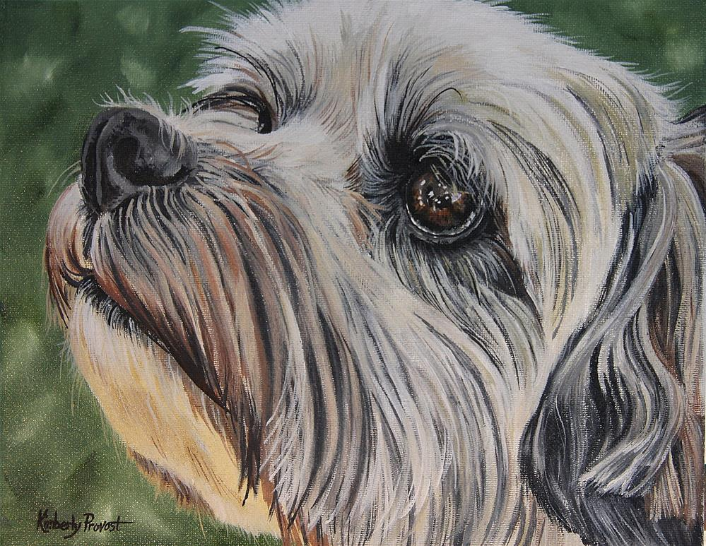 """Ode to Benji"" original fine art by Kimberly Provost"