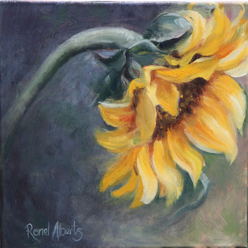 """You are my sunshine"" original fine art by Ronel Alberts"
