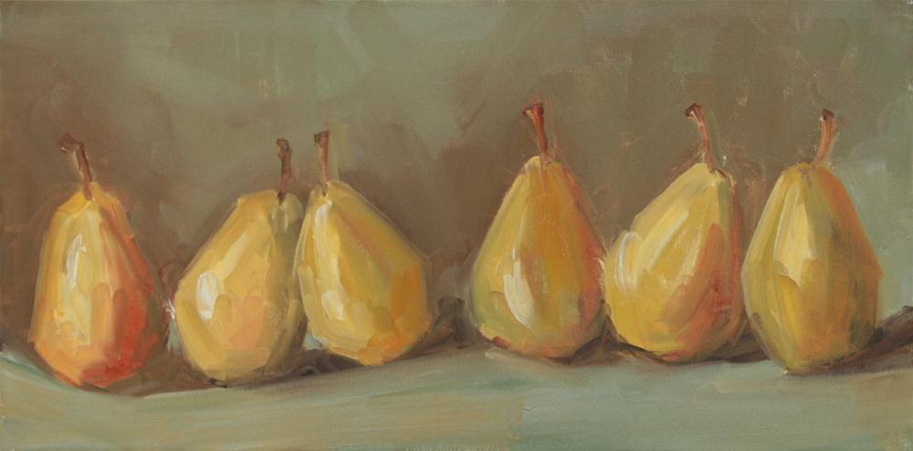 """six pack"" original fine art by Carol Carmichael"