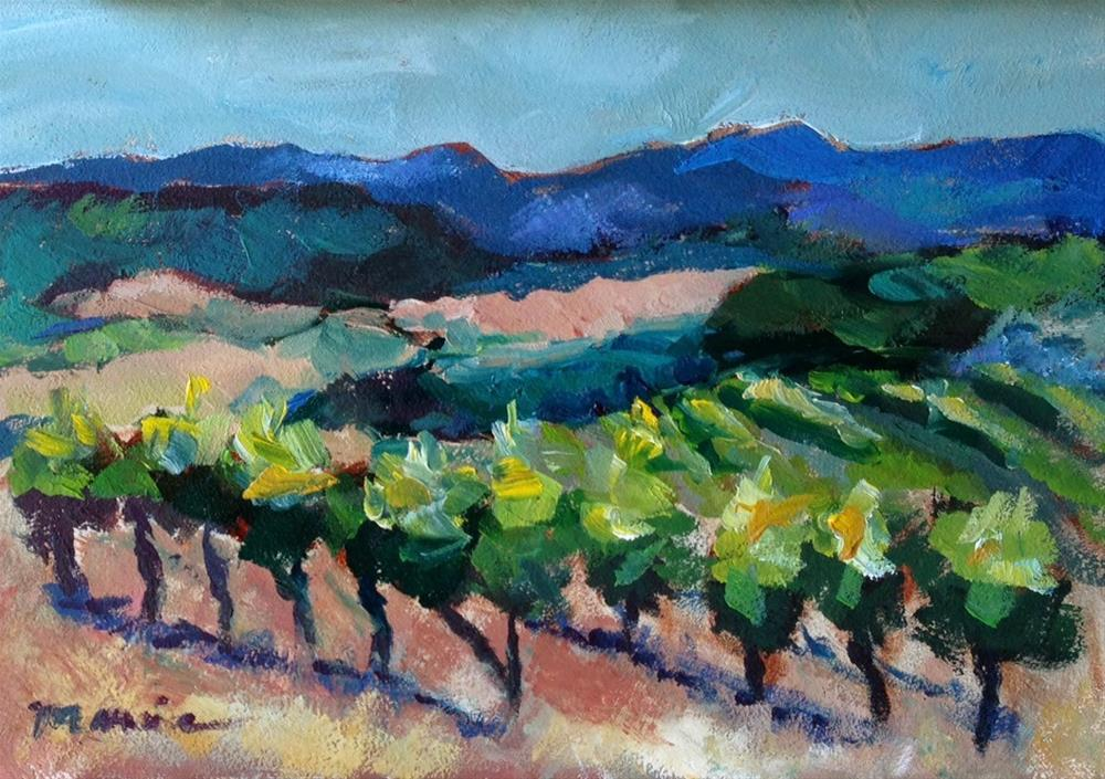 """New Wine for Old Wineskins"" original fine art by Marcia Hodges"
