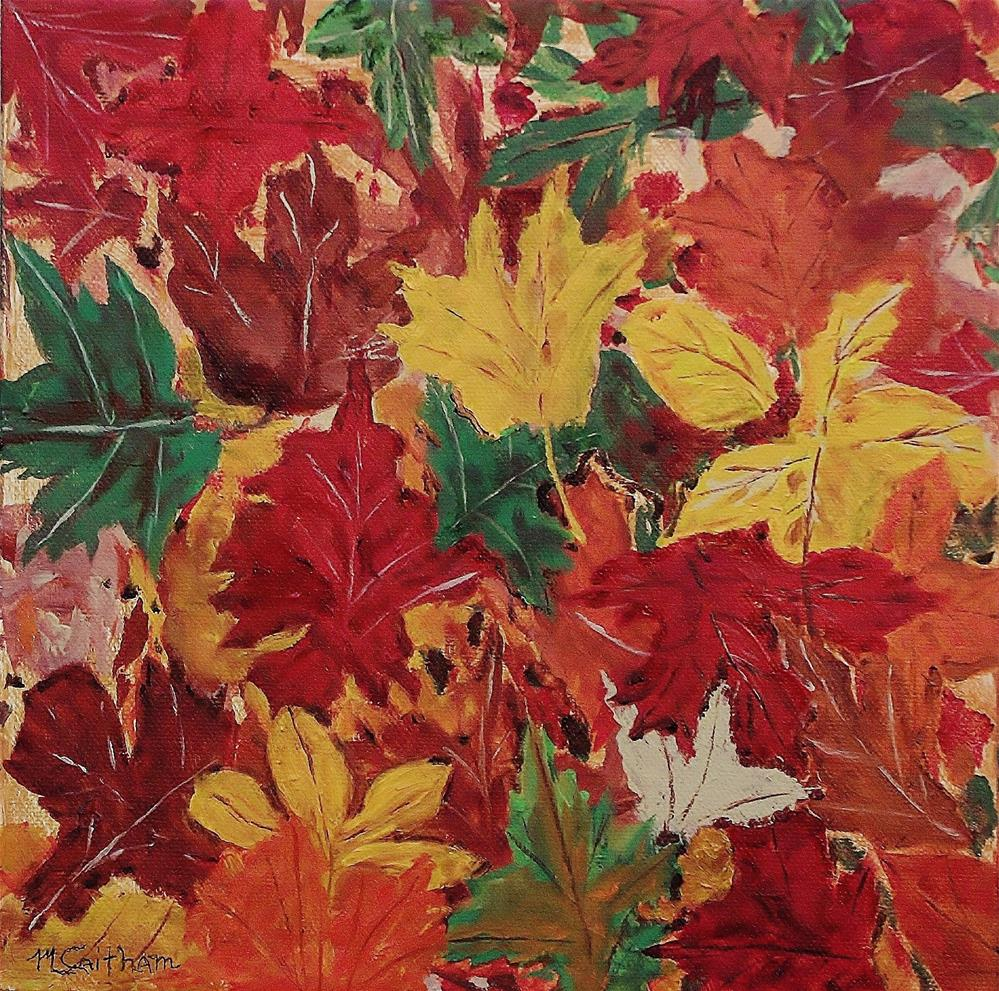 """Colors Of October"" original fine art by Mike Caitham"