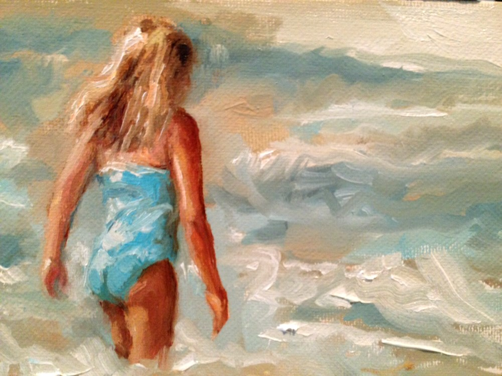 """Last Day of Summer"" original fine art by Marcia Hodges"
