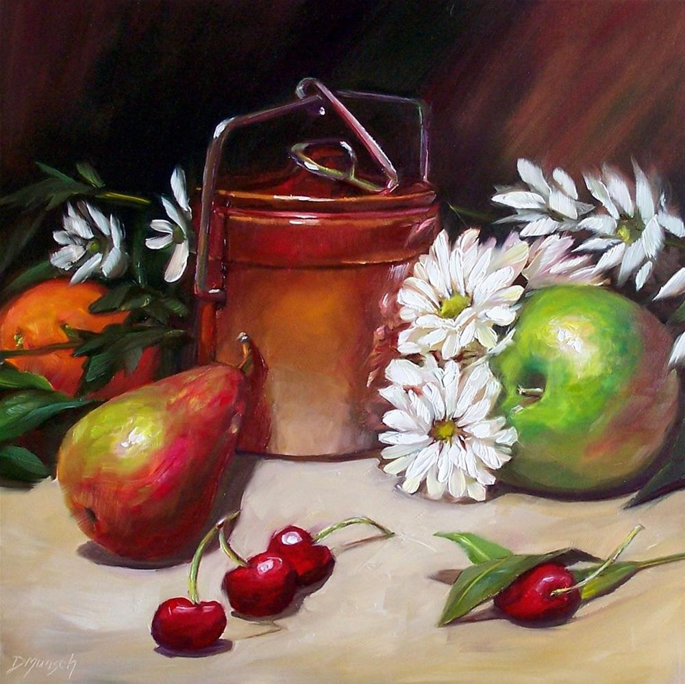 """""""Hidden Crock"""" original fine art by Donna Munsch"""