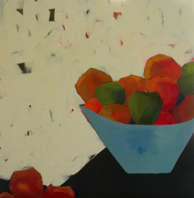 """""""A Bowl Full"""" original fine art by Janet Bludau"""