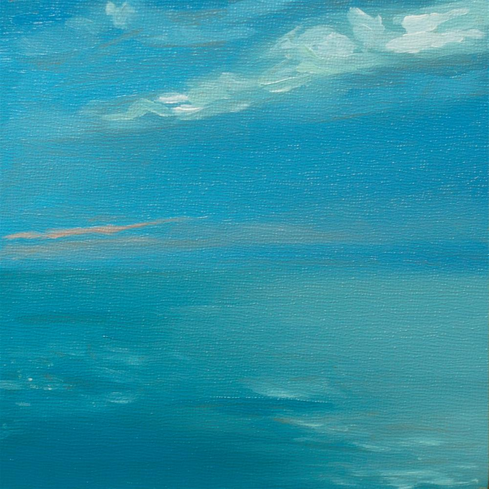 """A Study in Subtle Blues"" original fine art by Heather Bullach"
