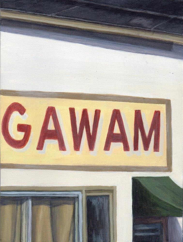 """""""Old Agawam"""" original fine art by Debbie Shirley"""