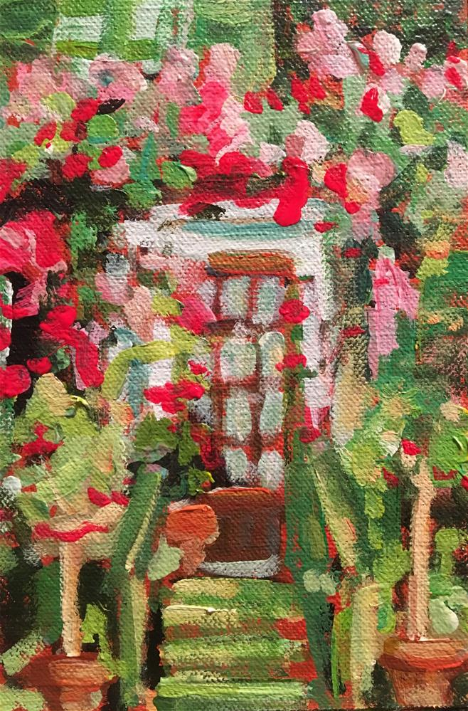 """Giverny"" original fine art by Susan Elizabeth Jones"