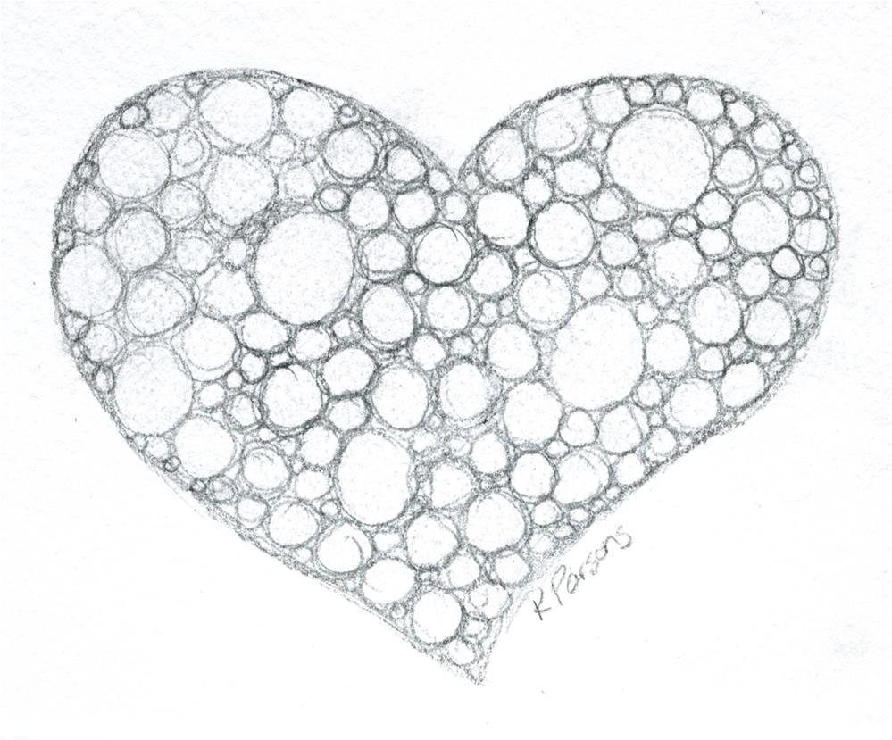 """Heart Filled"" original fine art by Kali Parsons"