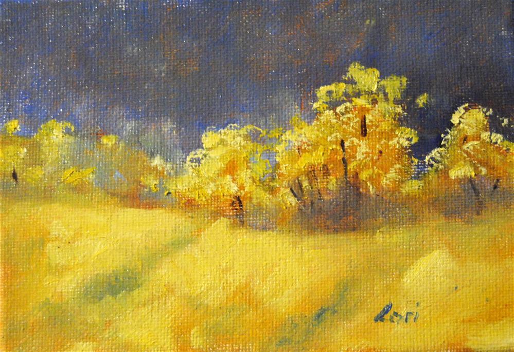 """NY Landscape Series # 5"" original fine art by Lori Jacobs - Farist"