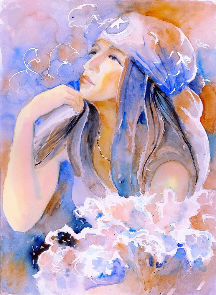 """Gypsy"" original fine art by Reveille Kennedy"