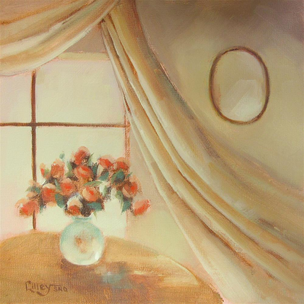 """Window Light"" original fine art by Maresa Lilley"