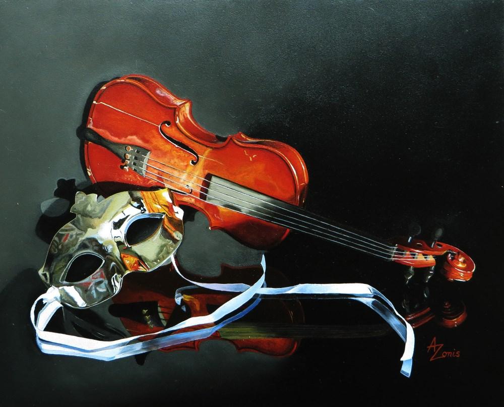 """""""Phantom"""" original fine art by Alex Zonis"""