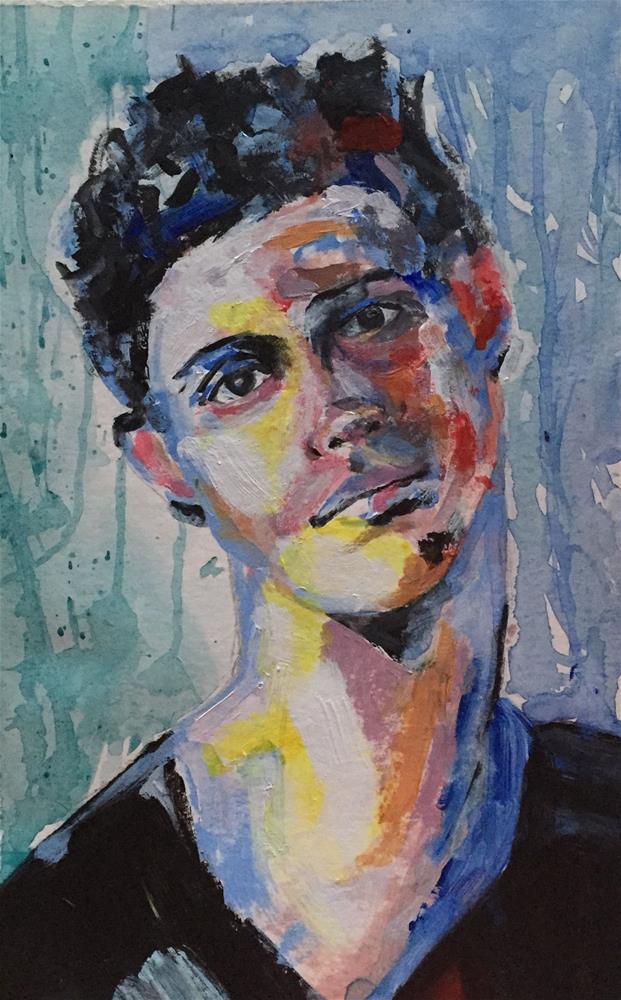 """""""YOUNG ONE"""" original fine art by Ferran Llagostera"""