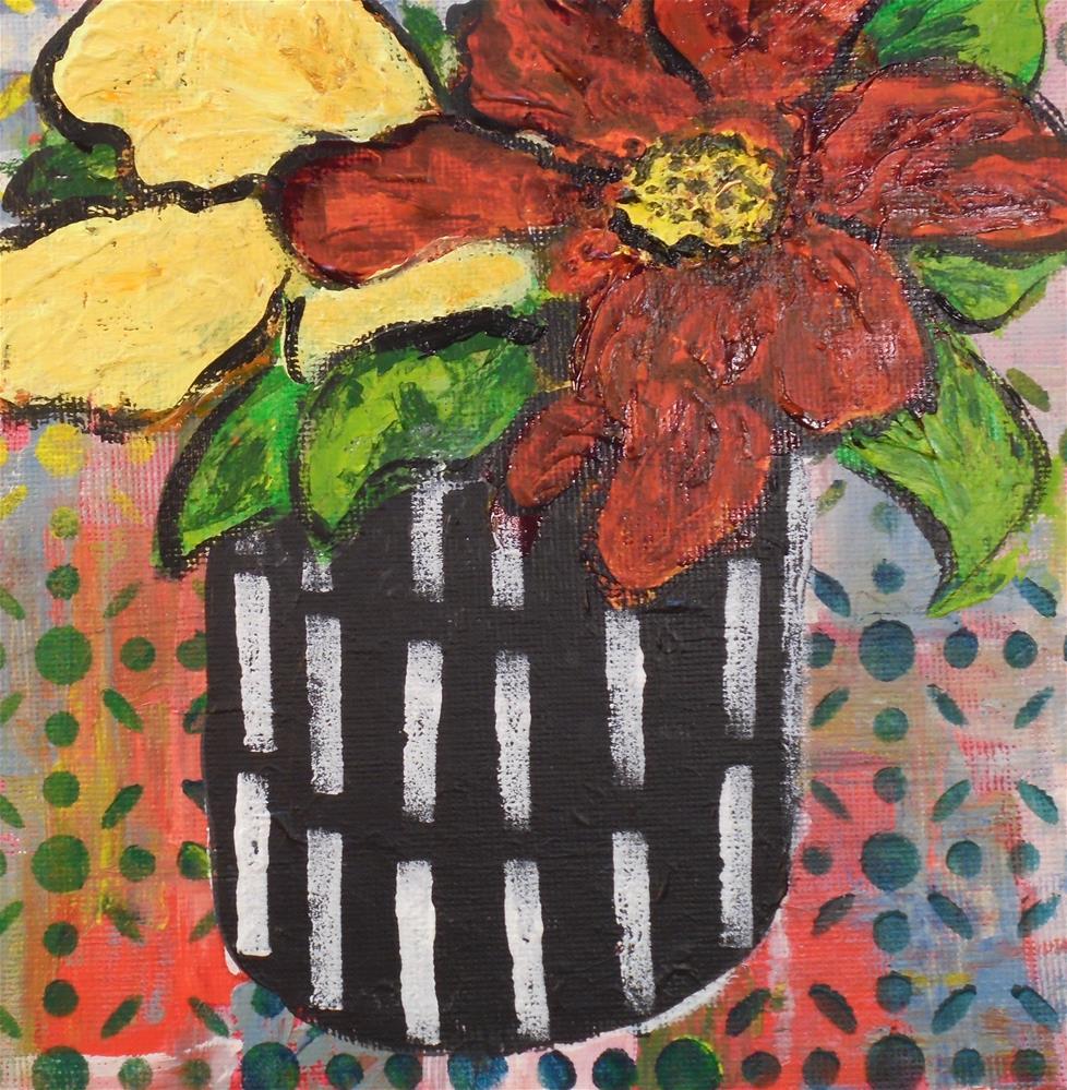 """FLORA"" original fine art by Mary Ellen Koser"