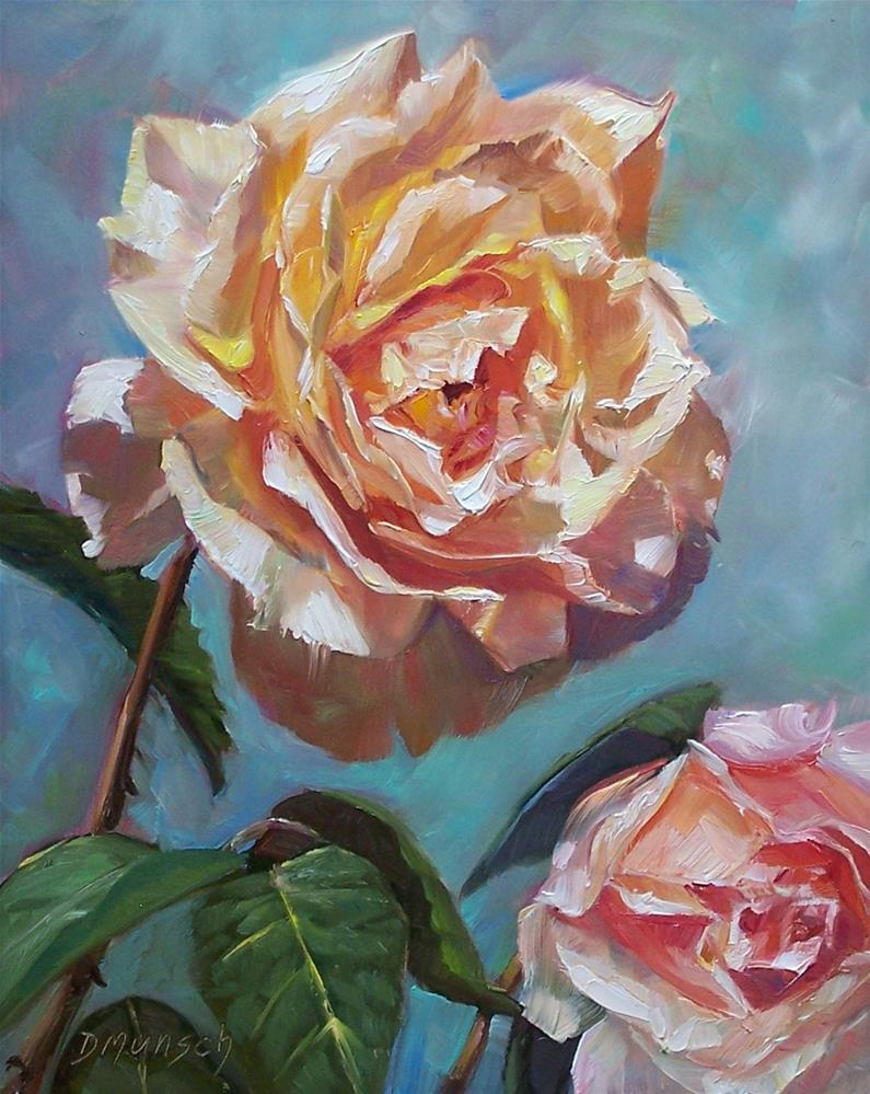 """Rose 1#"" original fine art by Donna Munsch"