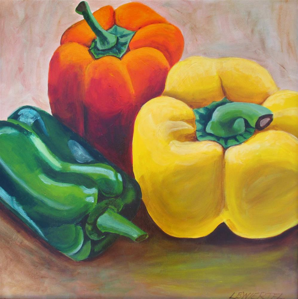 """Pepper Still Life"" original fine art by Lisa Wiertel"