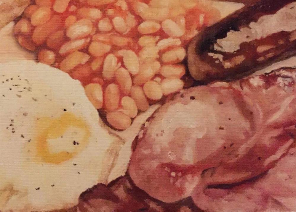 """The Fry Up"" original fine art by John Cameron"