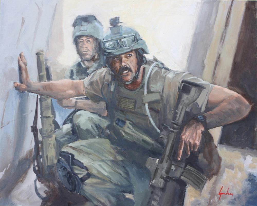 """Fallujah – 2005"" original fine art by Graham Townsend"