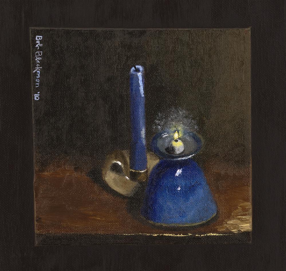 """Irish Light"" original fine art by Bob Blackmon"
