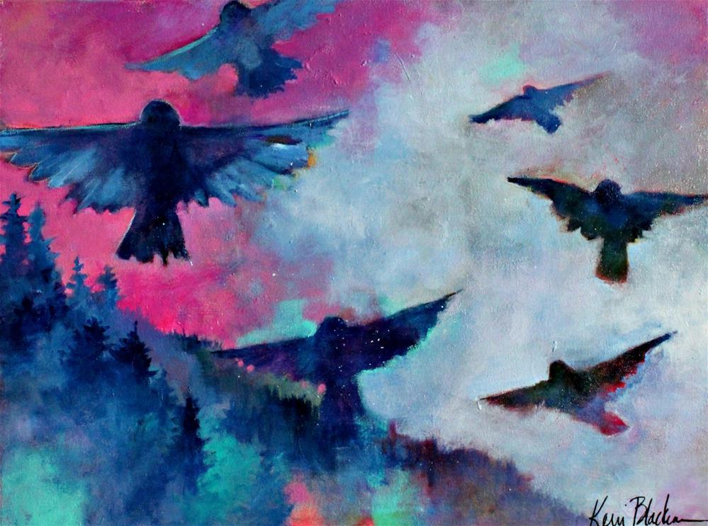 """Healing WIngs"" original fine art by Kerri Blackman"
