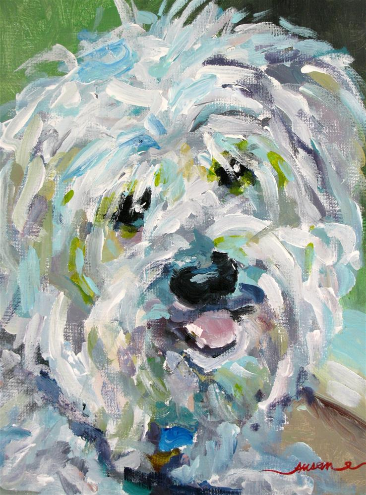 """Allie"" original fine art by Susan Elizabeth Jones"