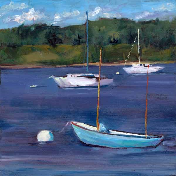 """Whatever Floats Your Boat"" original fine art by Brenda Ferguson"