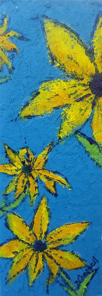 """Daisies"" original fine art by Becky Chappell"