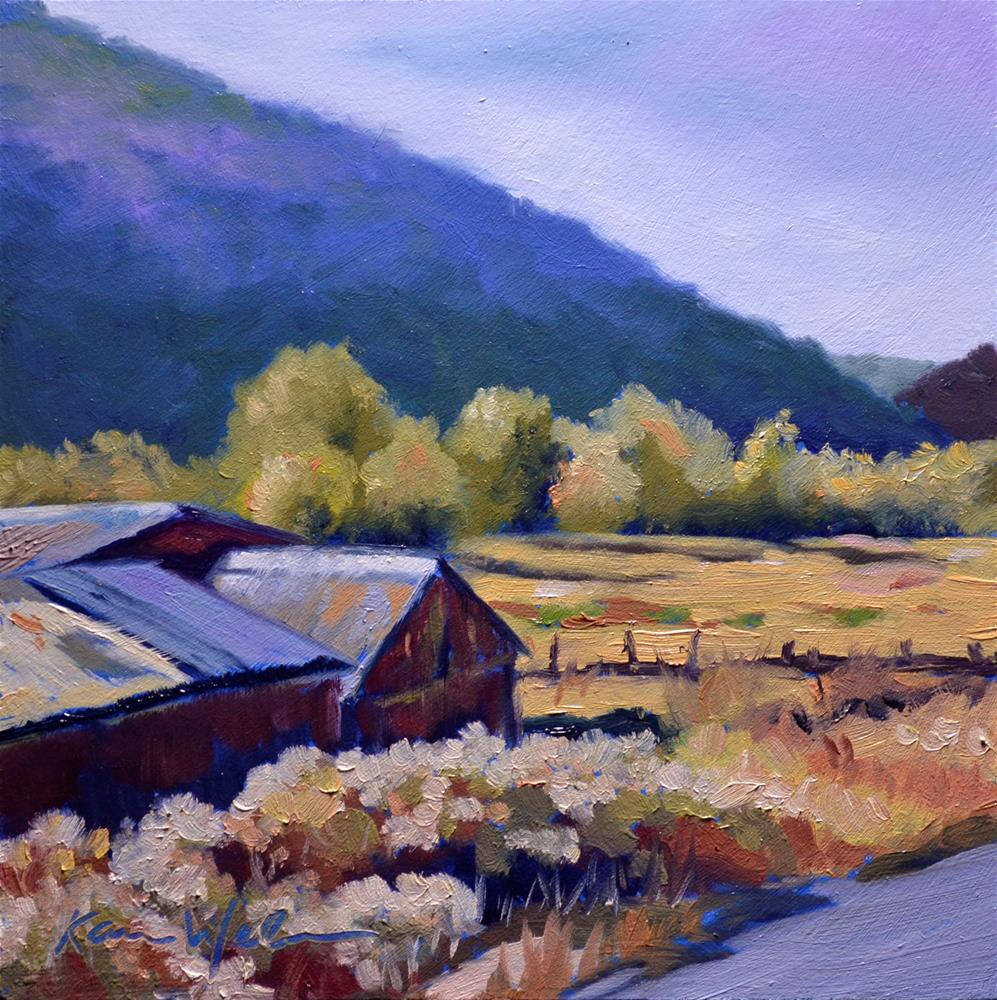 """Private Idaho"" original fine art by Karen Weber"
