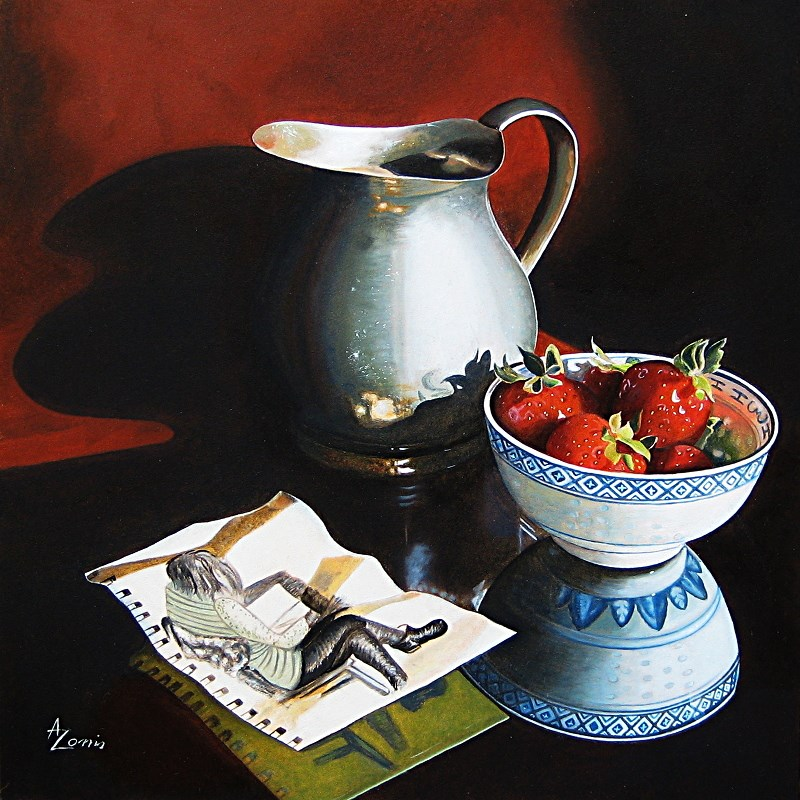 """What I drew last summer"" original fine art by Alex Zonis"