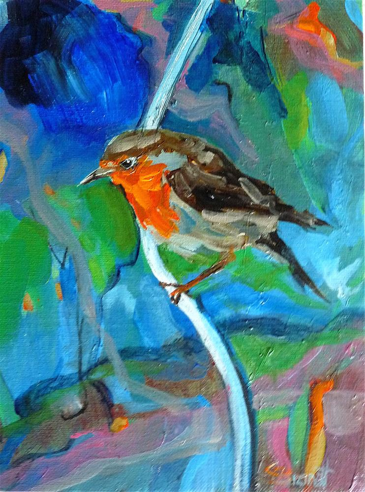 """bird"" original fine art by Claudia Brandt"