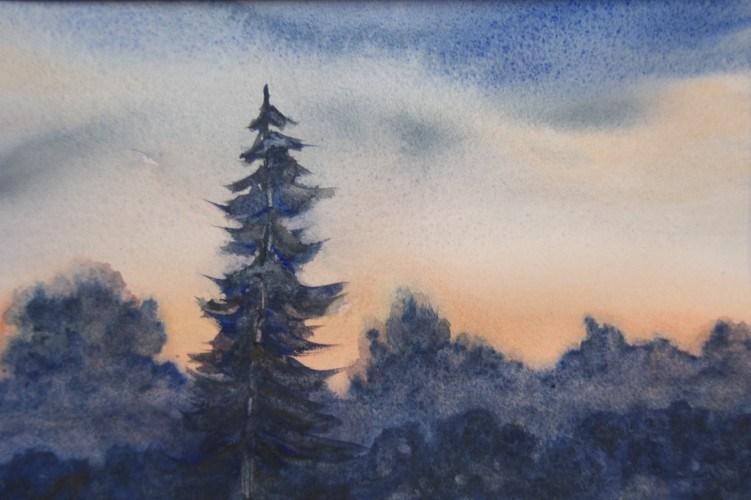"""""""First Light"""" original fine art by Jean Lurssen"""