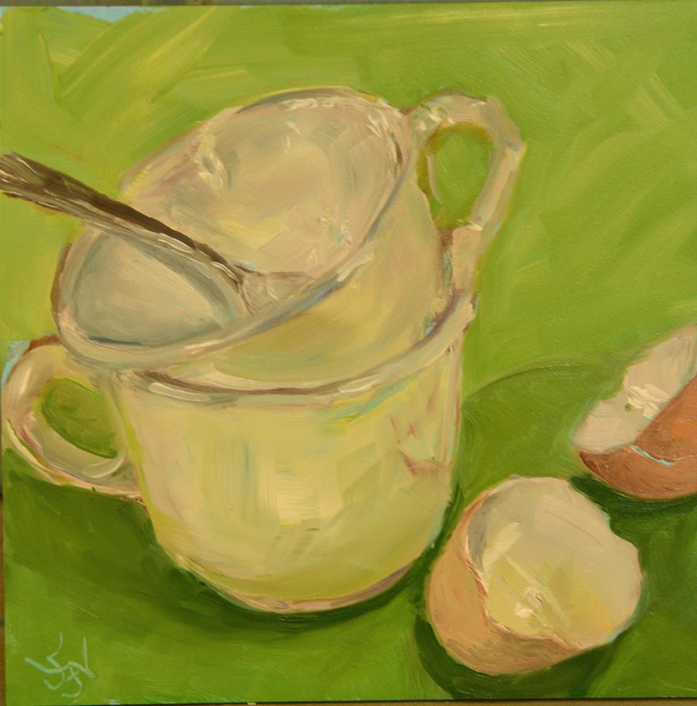 """New Cups"" original fine art by Jan Jackson"
