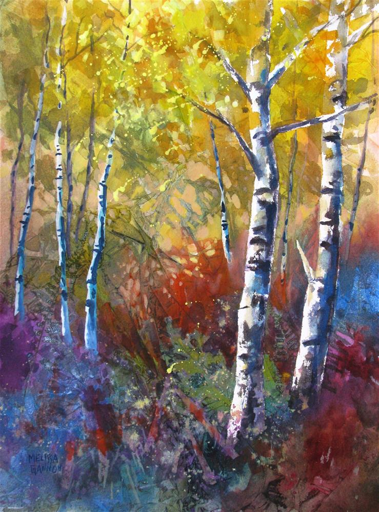 """Nature's Layers"" original fine art by Melissa Gannon"