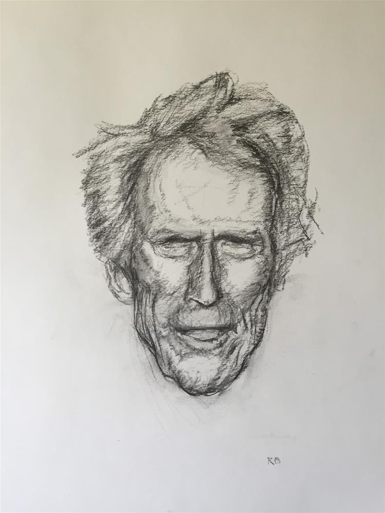 """""""Clint"""" original fine art by Rick Blankenship"""
