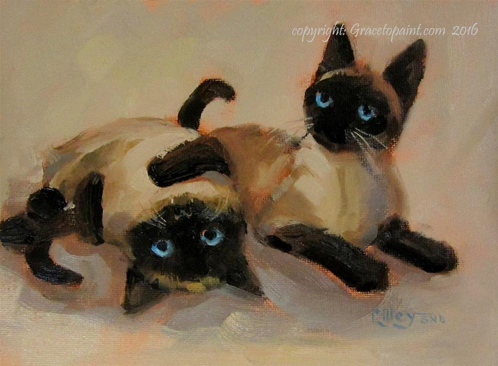 """Seriously?"" original fine art by Maresa Lilley"