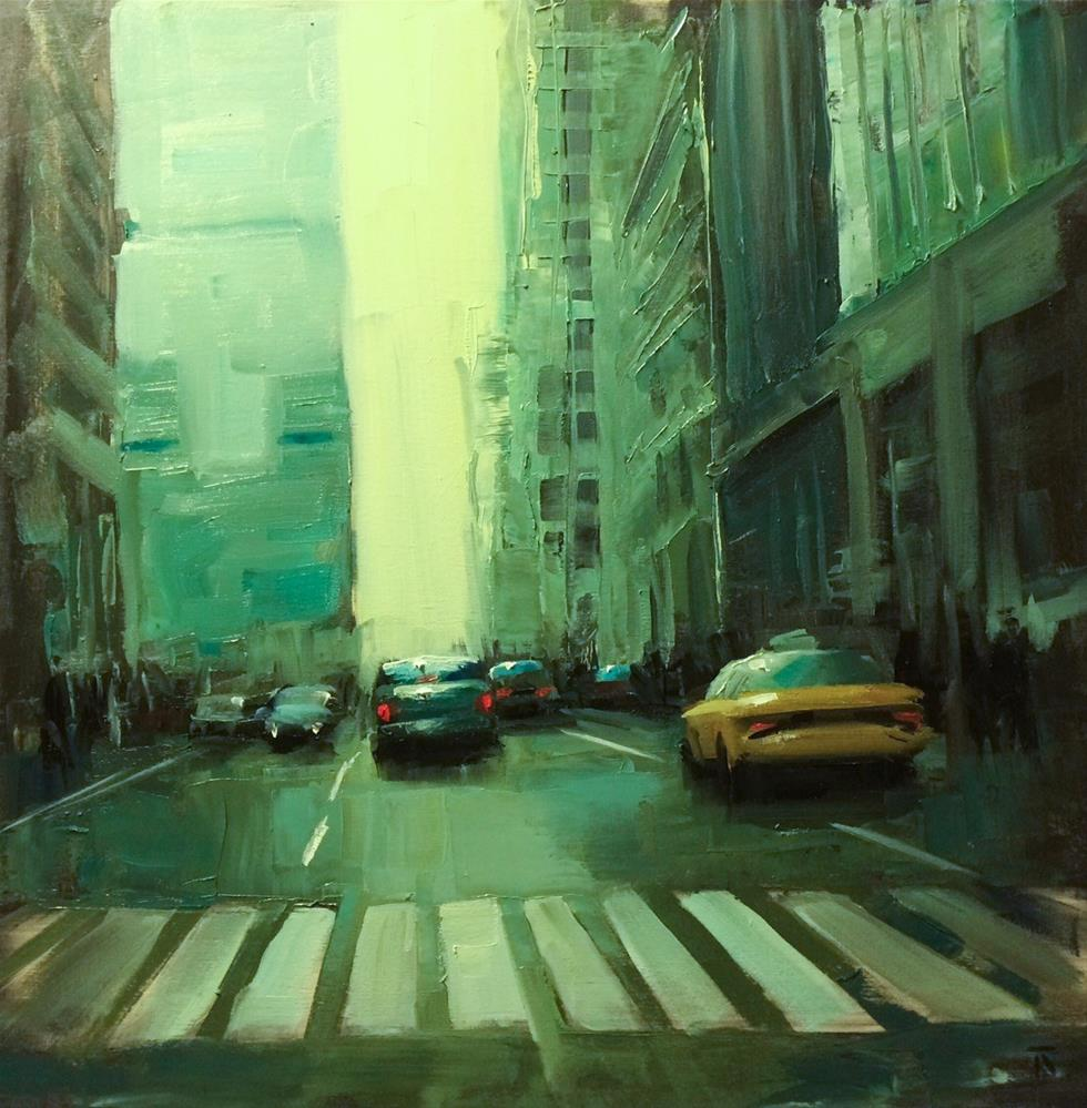 """NYC Study 3"" original fine art by Thomas Ruckstuhl"