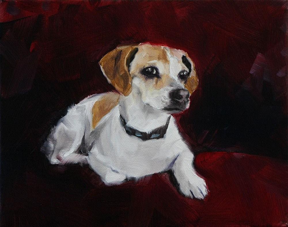 """The Daily Dog - Twenty Five"" original fine art by Clair Hartmann"