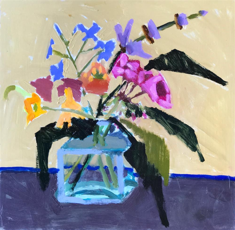 """""""Oh, And I like Buddleia Too"""" original fine art by Pamela Hoffmeister"""