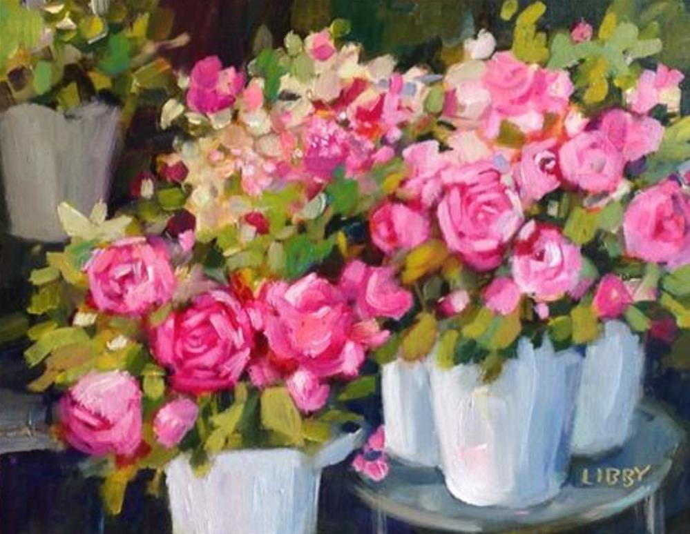 """Rose Parade"" original fine art by Libby Anderson"