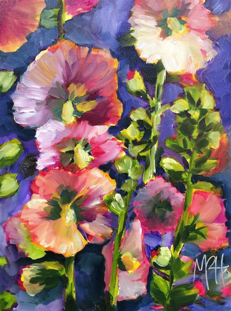 """Exuberance"" original fine art by Molly Rohrscheib Hathaway"