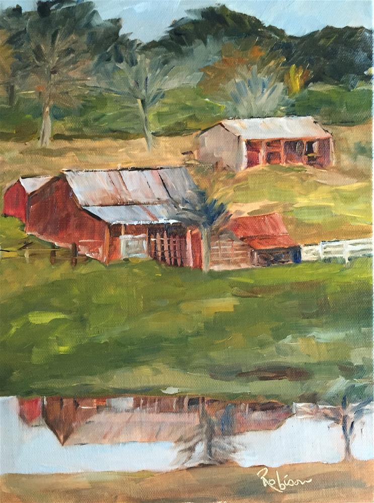 """Reflections:  12 of 30"" original fine art by Renee Robison"
