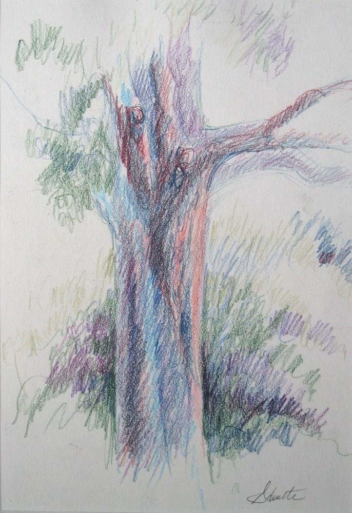 """In the Shade"" original fine art by Lynne Schulte"