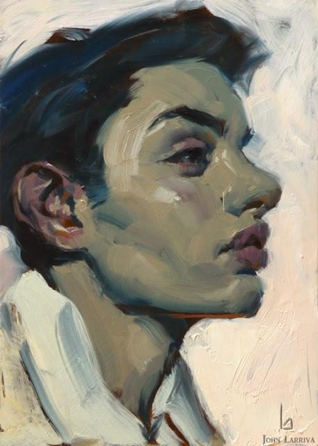 """""""Blue Boy"""" original fine art by John Larriva"""