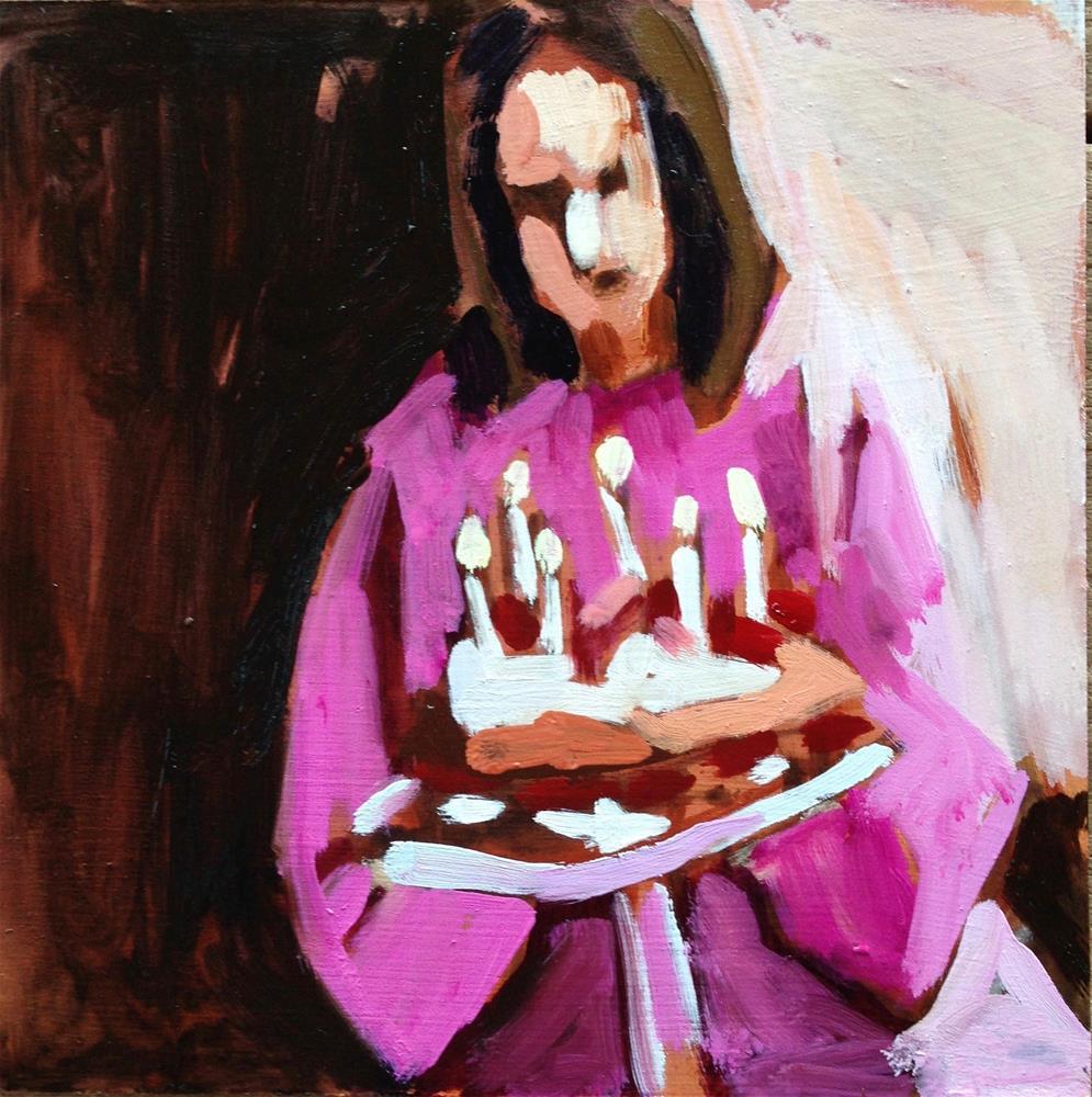 """Summer Birthday"" original fine art by Pamela Hoffmeister"