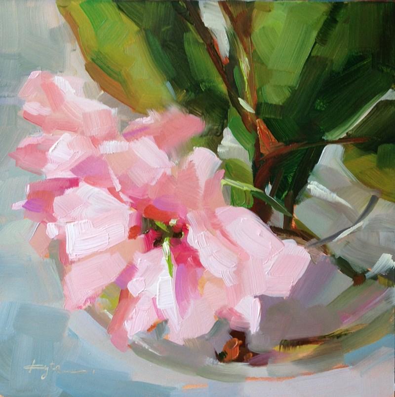"""""""Cherry Blossom"""" original fine art by Katia Kyte"""