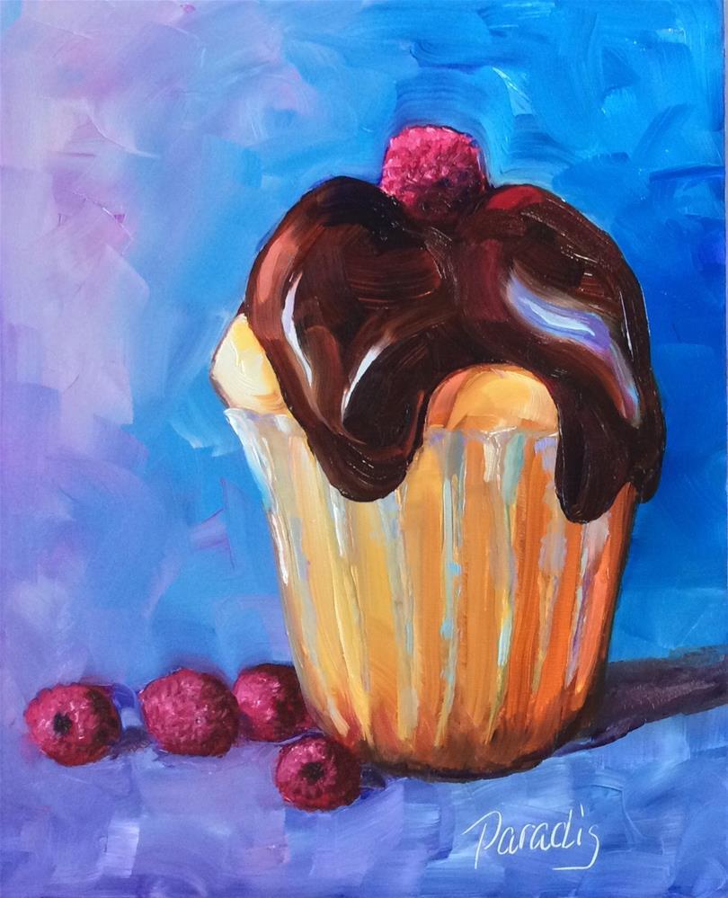 """Awesome Raspberries"" original fine art by Rita Paradis"