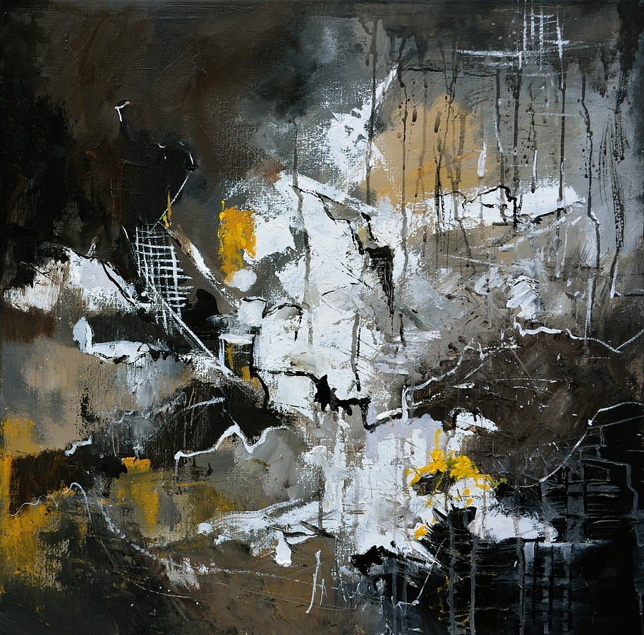 """abstract 7751203"" original fine art by Pol Ledent"