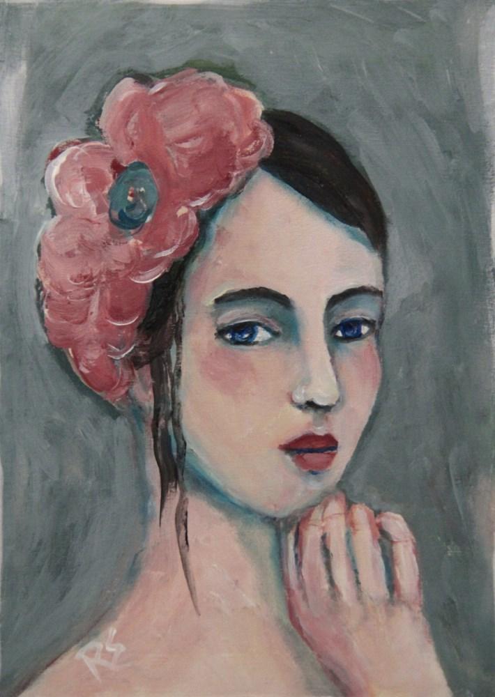 """""""Imogen"""" original fine art by Roberta Schmidt"""
