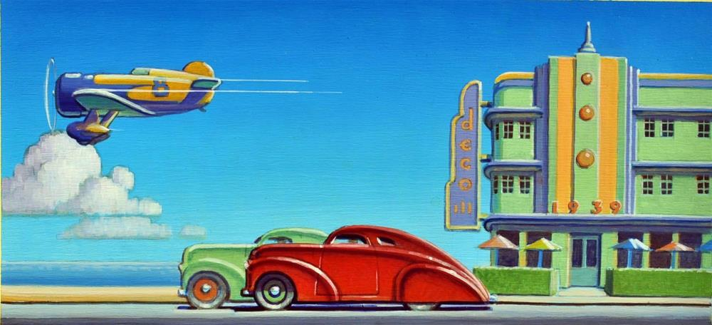 """Ocean Front"" original fine art by Robert LaDuke"