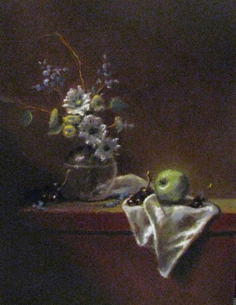 """spring bouquet"" original fine art by tom dawson"